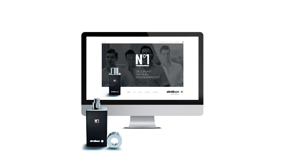 coma2 e-branding - Strellson Fragrances Websites - 1