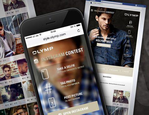 OLYMP Instagram Kampagne