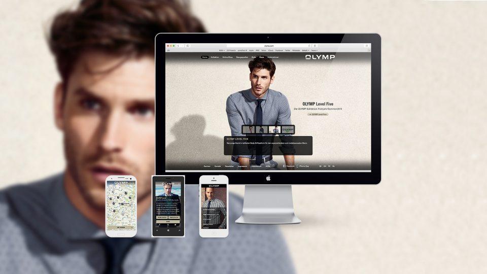 coma2 e-branding - OLYMP Image-Website - 1