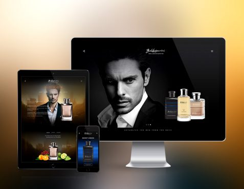 Baldessarini Fragrances Website
