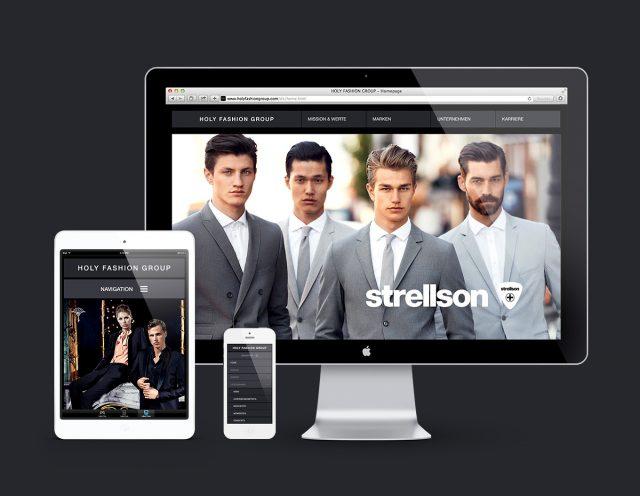 Strellson Website
