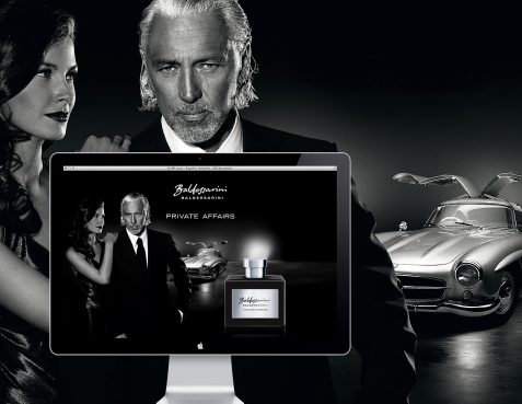 Baldessarini Fragrances Website