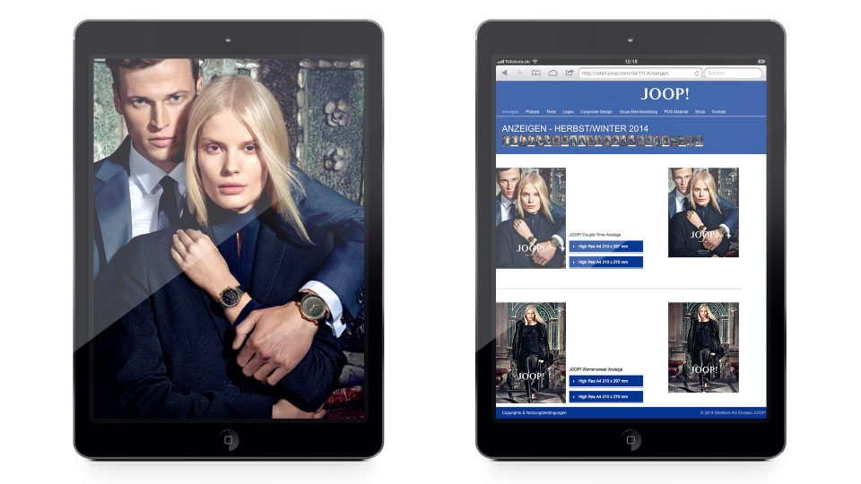coma2 e-branding - JOOP! B2B Marketing - 1