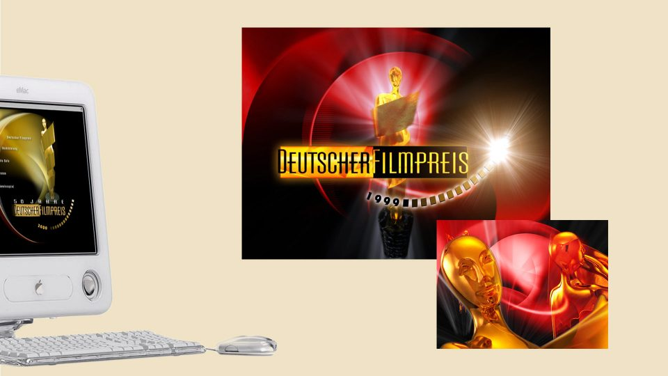 coma2 e-branding - Deutscher Filmpreis 2000 - 1