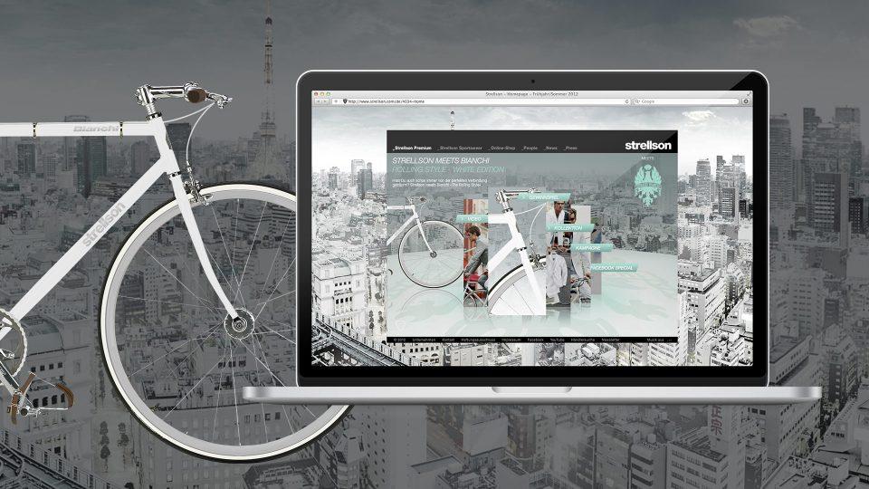 coma2 e-branding - Classics – Strellson meets Bianchi - 1