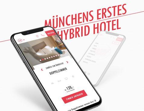 Schwabinger Wahrheit Hotel Website